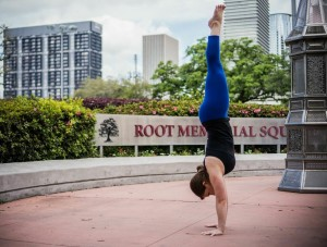 Wrist Pain in Yoga Handstand