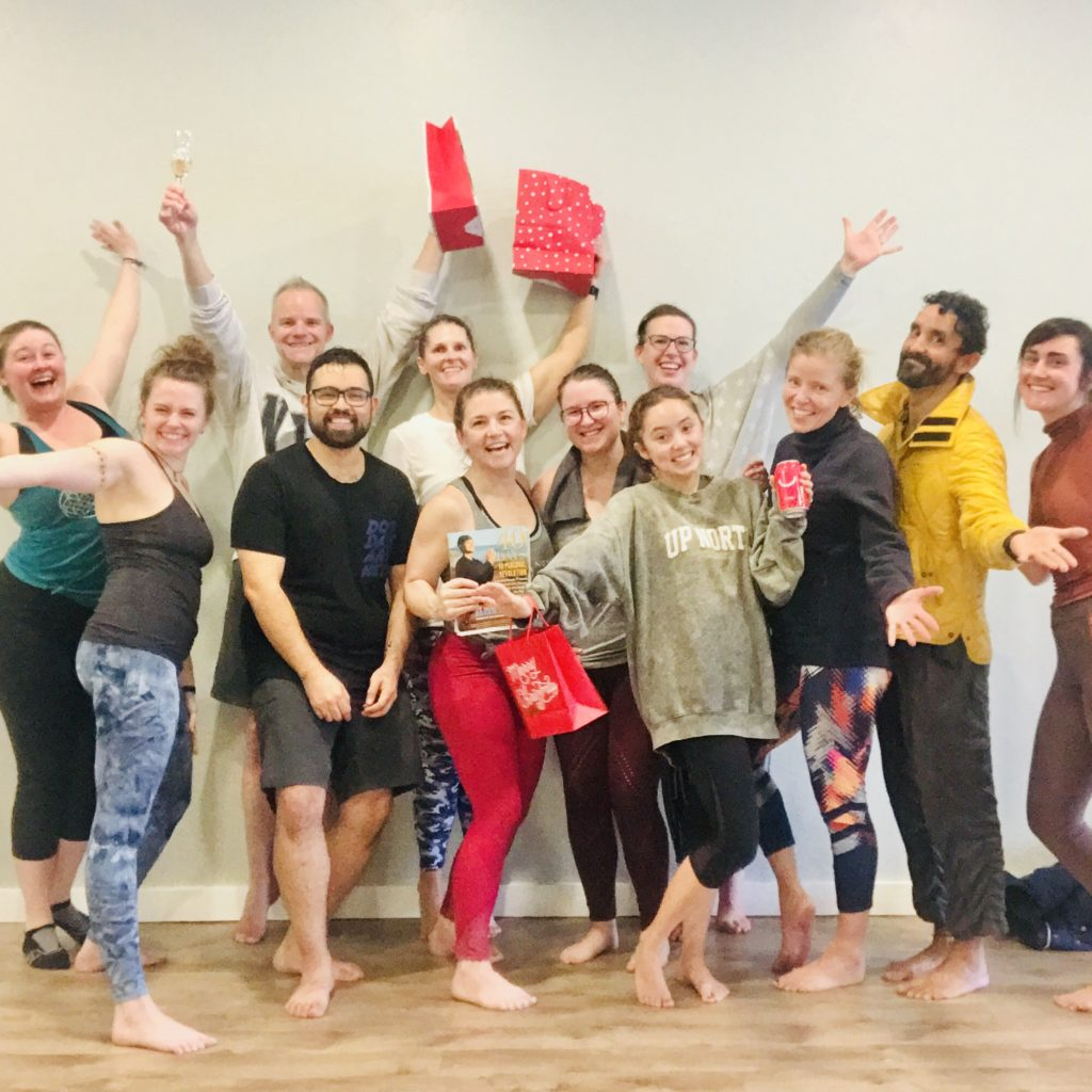 Holiday Celebration at New Angle Yoga OKC 2019